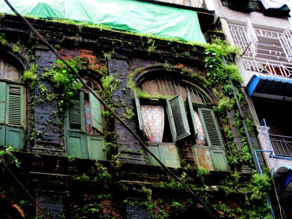 Yangong, Myanmar, homes