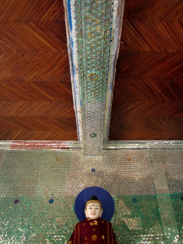 Buddha in Shwedagon Pagoda, Yangon, Myanmar