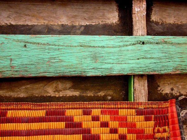 Boat detail from Inle Lake, Myanmar