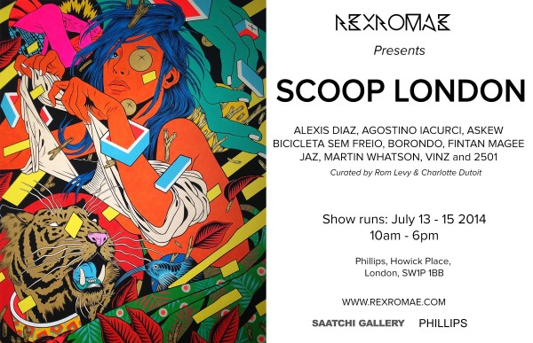 RexRomae Scoop London Flyer