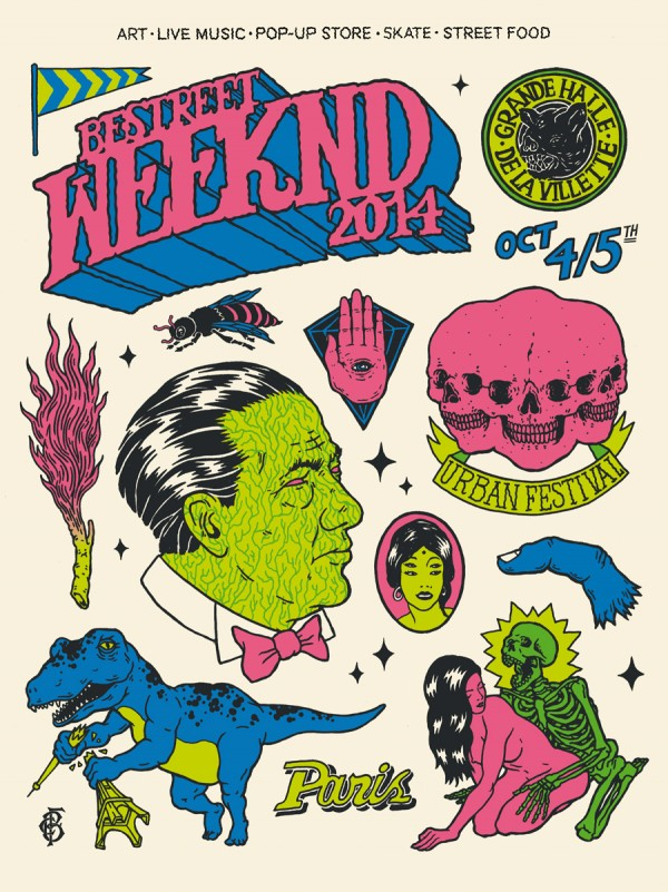 Be Street Weekend Poster