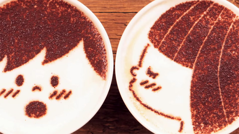 japanese-coffee-brand-animates-stop-motion-story-1000-lattes-designboom-02
