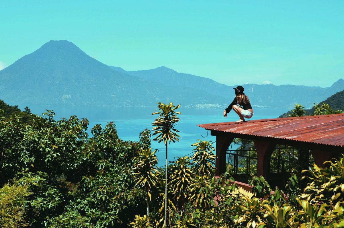 Lake-Atitlan,-Guatemala-
