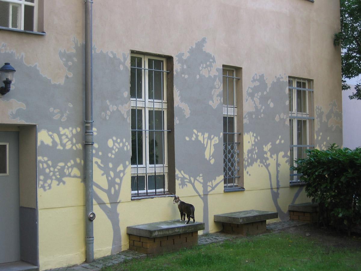 Fassadenmalerei - mural painting