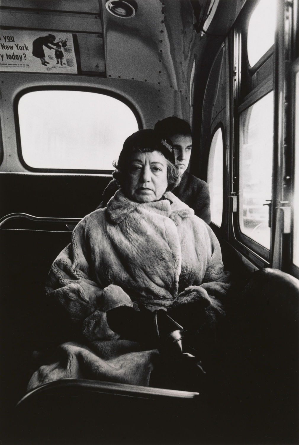 3.-Lady-on-a-bus-N.Y.C.-1957