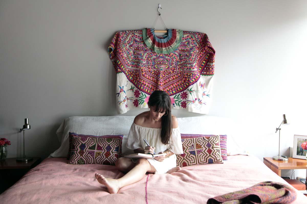 molly in her bedroom
